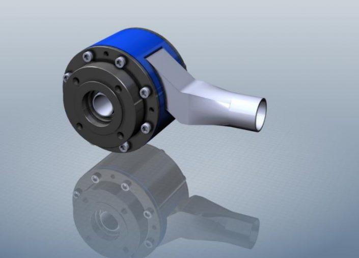 3D model of 10xHydro turbine prototype