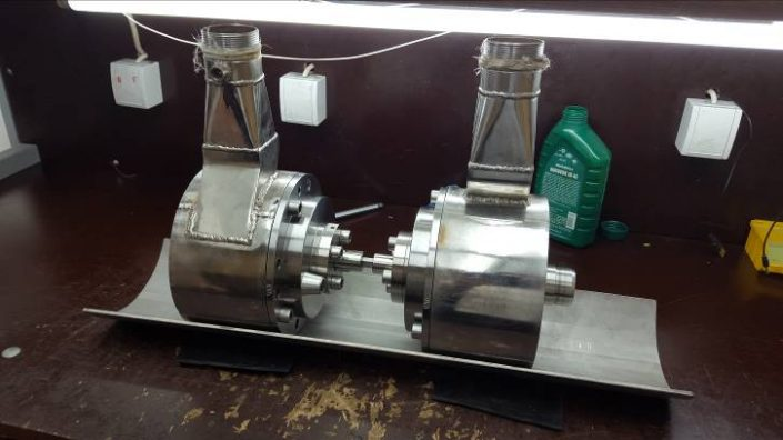 Concept of turbine coupling for in-house torque tests