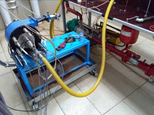 Laboratory test of 10xHydro turbine prototype 1